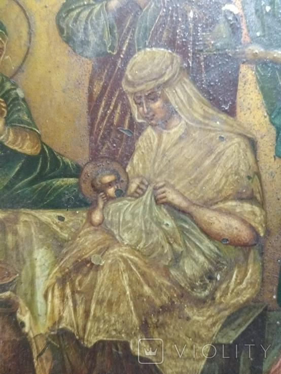 Икона. Рождение присвятой Богородицы., фото №4