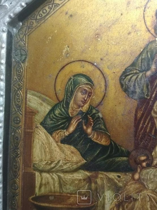 Икона. Рождение присвятой Богородицы., фото №5