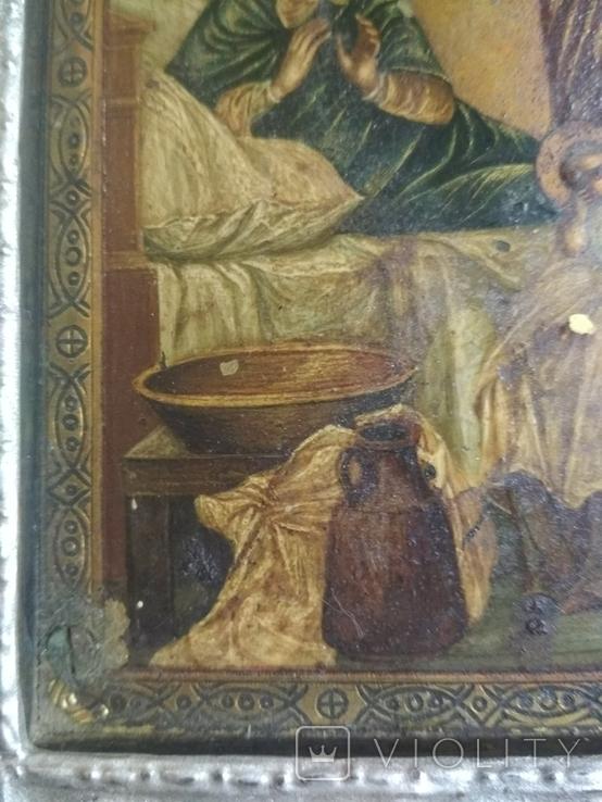 Икона. Рождение присвятой Богородицы., фото №9