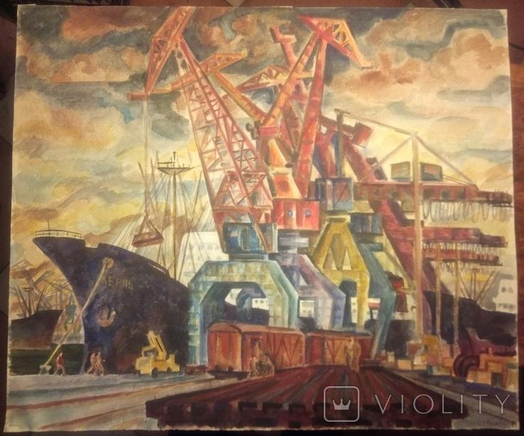 Ильичевский порт.61-78см.1978 год., фото №2