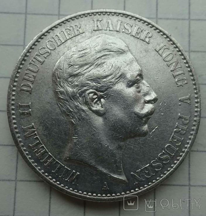 2 марки, Пруссия, 1900 год., фото №2