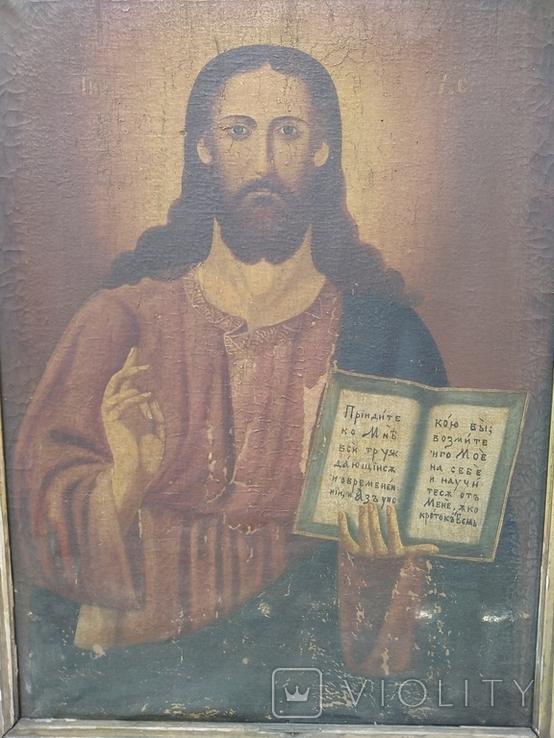 Господь Вседержитель полотно, живопис, фото №3