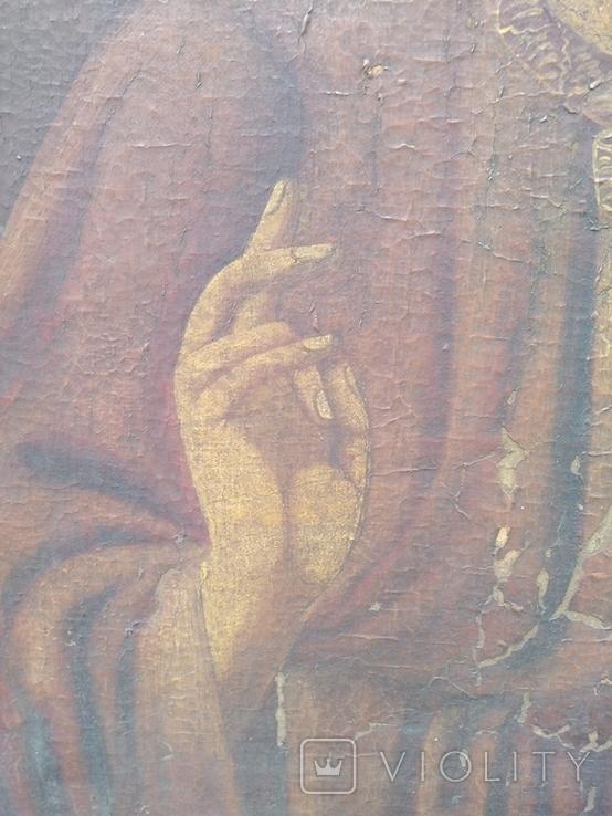 Господь Вседержитель полотно, живопис, фото №7