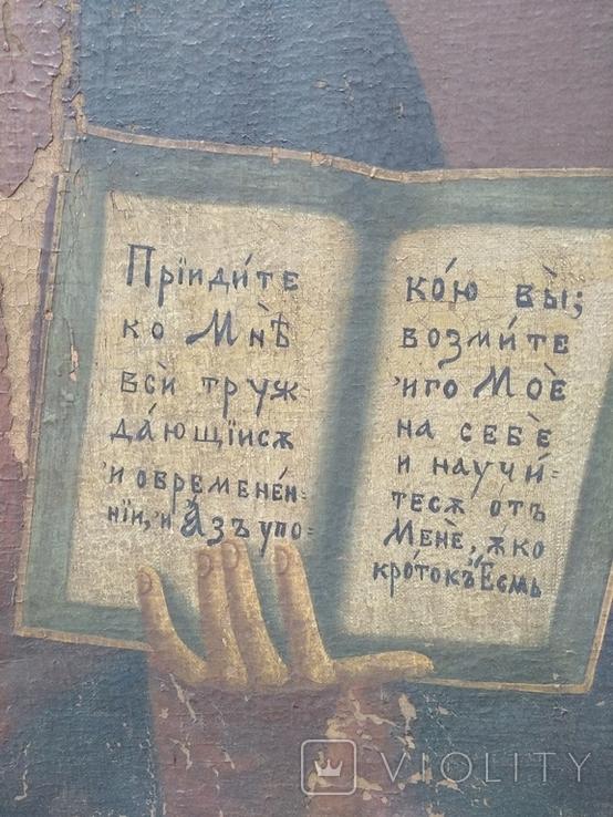Господь Вседержитель полотно, живопис, фото №8