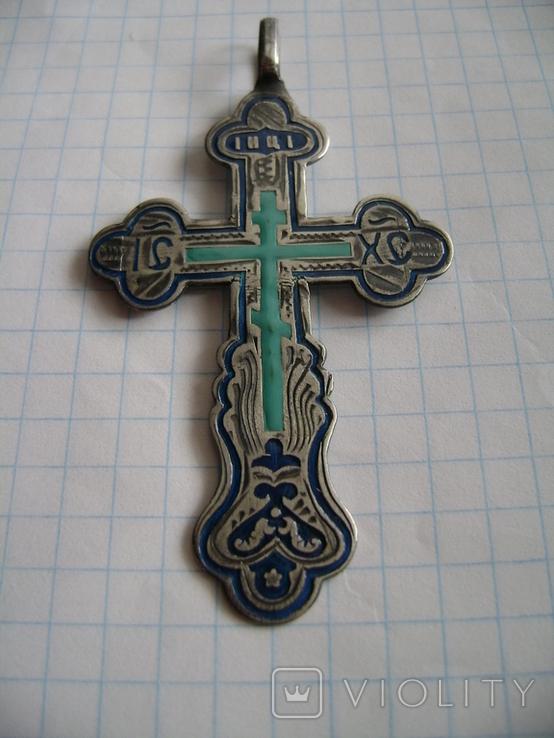 Крест-1. Серебро 84., фото №2