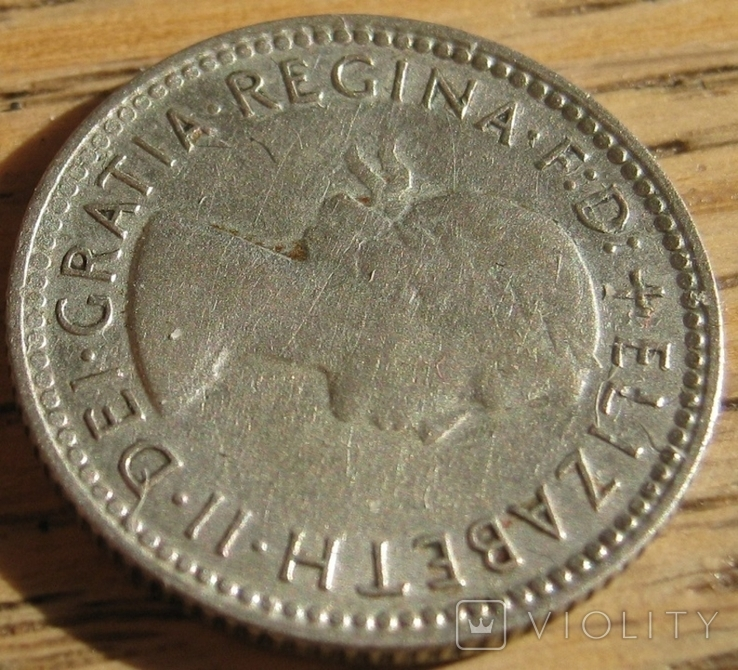 6 пенсов 1960 Австралия, фото №5