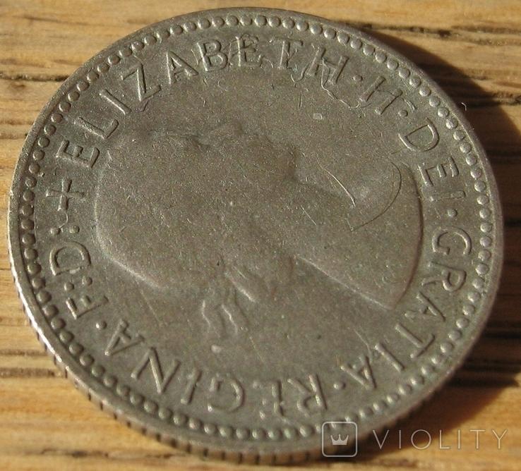 6 пенсов 1955 Австралия, фото №5