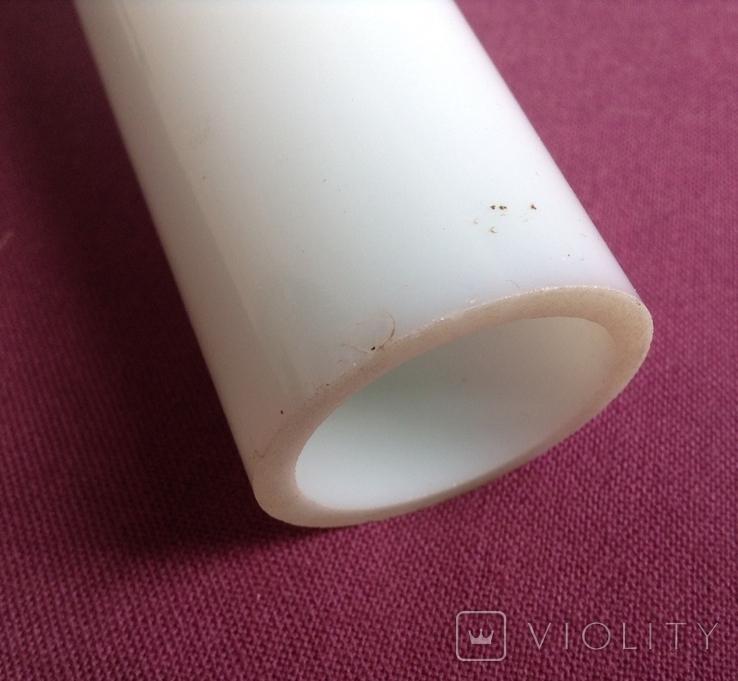 Лампа - плафон. Белое молочное стекло., фото №4