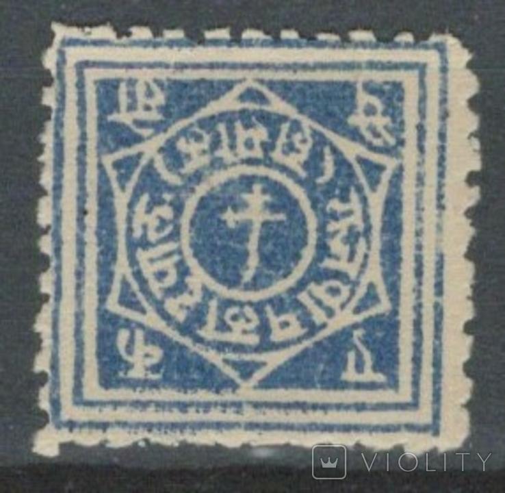 Бв06 Индийские княжества. Раджпипла 1880 №1*