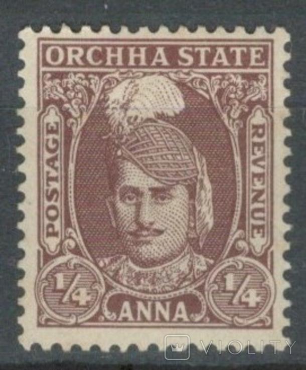 Бв08а Индийские княжества. Орча 1939 №29* (3 евро)