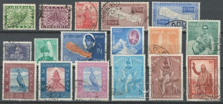Бв09 Индийские княжества. Непал 1907-1963