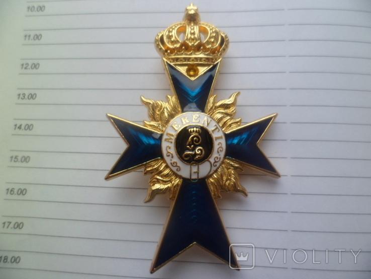 Немецкая нагрудная звезда орден, значок с крестом копия, фото №2