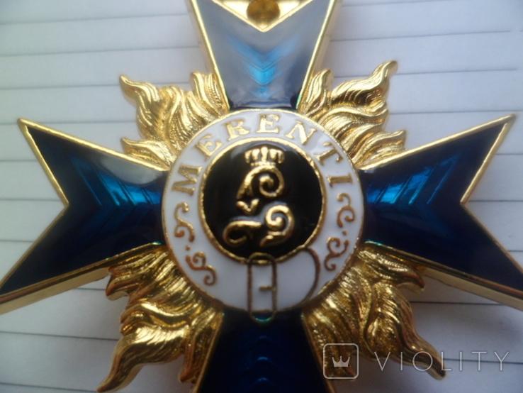 Немецкая нагрудная звезда орден, значок с крестом копия, фото №3
