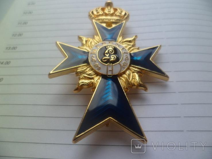 Немецкая нагрудная звезда орден, значок с крестом копия, фото №5