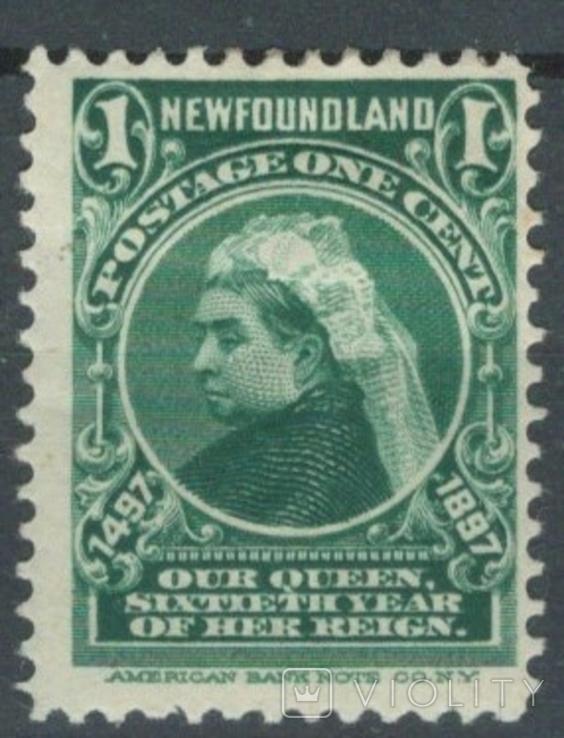Бе05 Британские колонии. Ньюфаундленд 1897 №44*