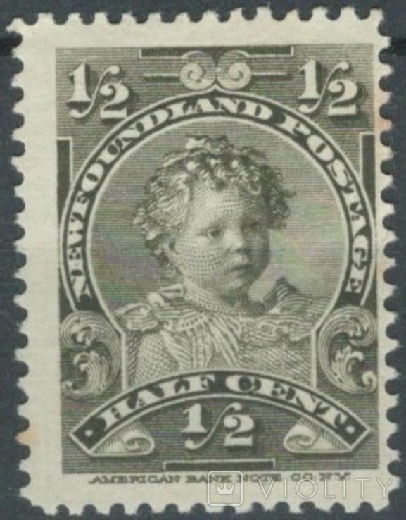 Бе06 Британские колонии. Ньюфаундленд 1897 №61*