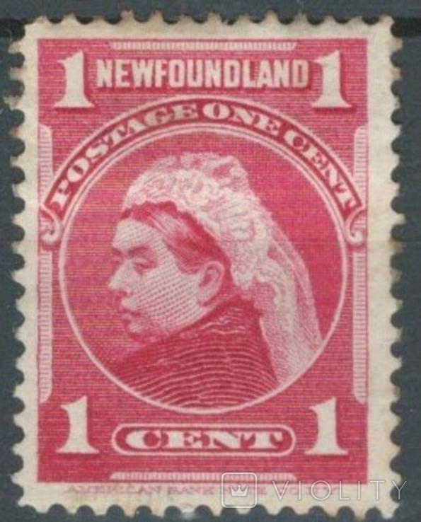 Бе07 Британские колонии. Ньюфаундленд 1897 №59*