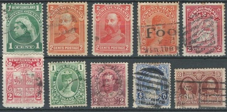 Бе09 Британские колонии. Ньюфаундленд 1897-1932 (22 евро)