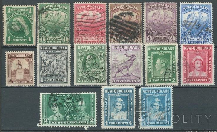 Бе11 Британские колонии. Ньюфаундленд 1887-1938