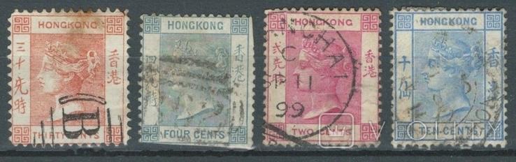 Бе15 Британские колонии. Гонконг 1863-1900 (36 евро)