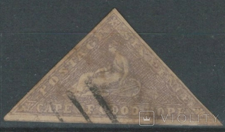 Бж11а Британские колонии. Капская колония 1858 (300 евро)