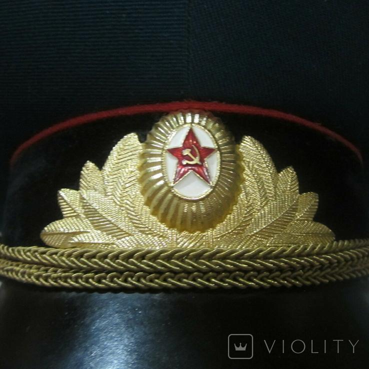 Парадная фуражка офицера СА СССР (55 размер)., фото №6
