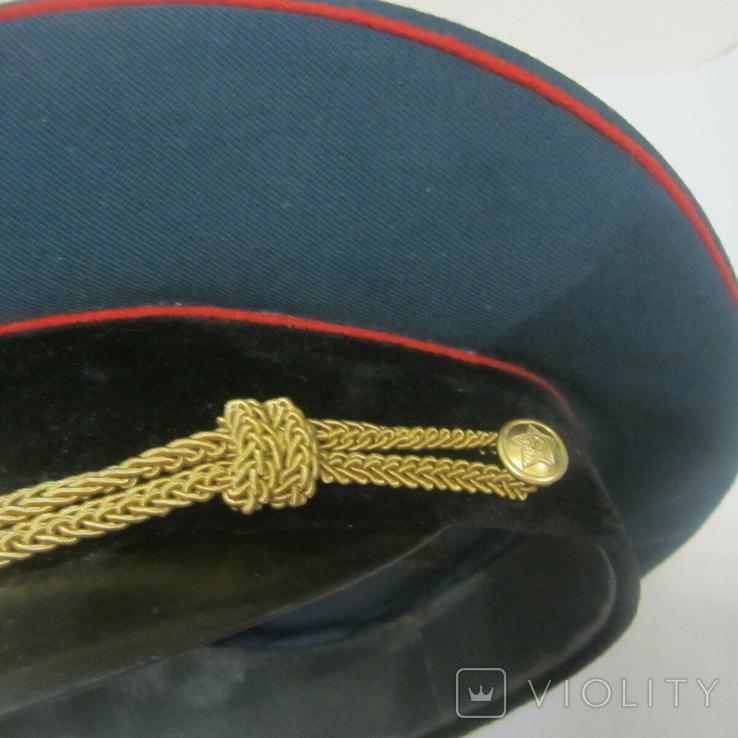Парадная фуражка офицера СА СССР (55 размер)., фото №7