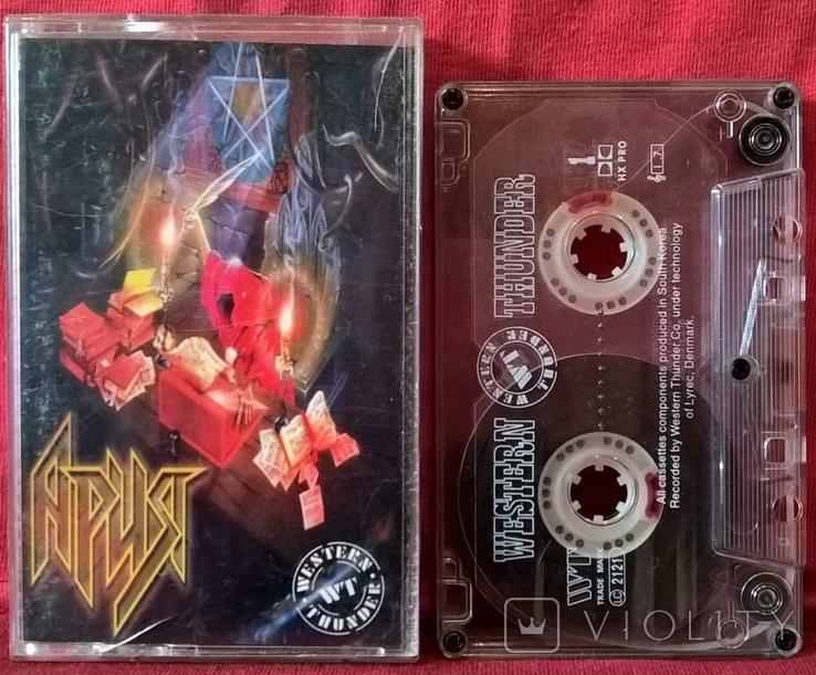 Ария - Генератор Зла - 1998. (МС). Кассета. Moroz Records, фото №3