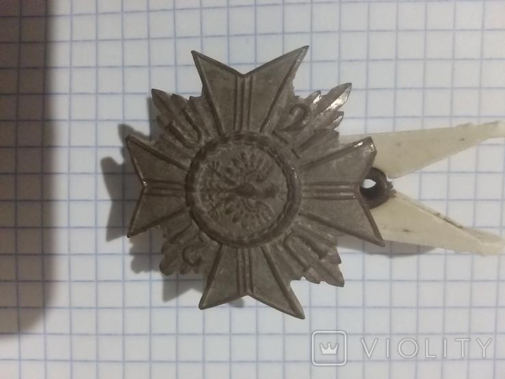 Нагрудный знак 21-го полка уланов. Польша., фото №2
