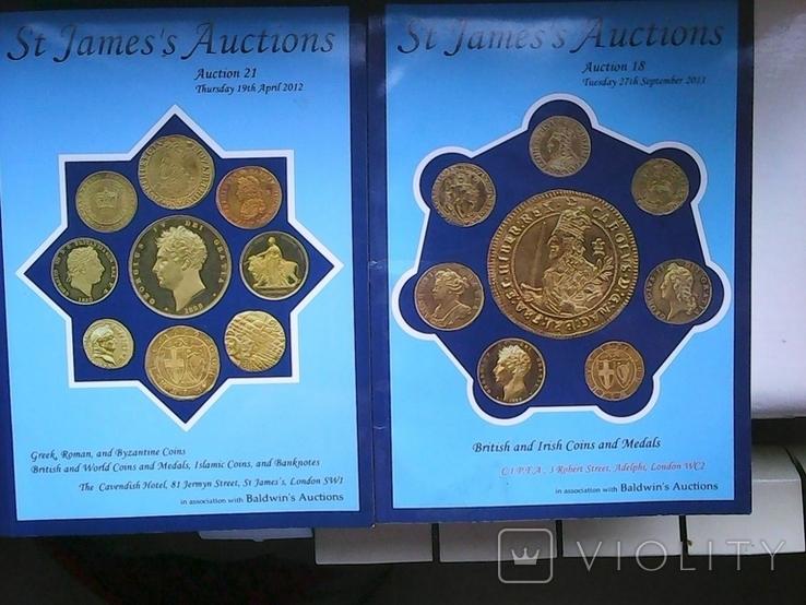 Каталог Монет Аукционного Дома St james auctions coins на англ., фото №2