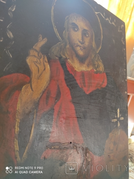 Ікона Стариная (Маслом), фото №2
