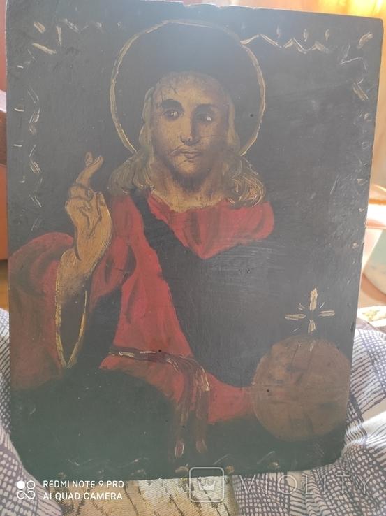 Ікона Стариная (Маслом), фото №6