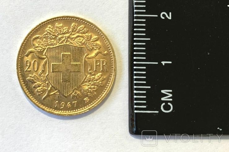 Франция 20 франков 1947 год, фото №4