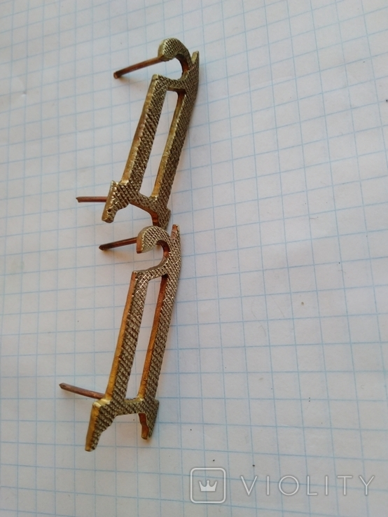 Буквы на погоны Деникин, копии, фото №4