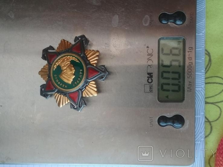 Орден адмирала Нахимова 1 ст (копия), фото №7