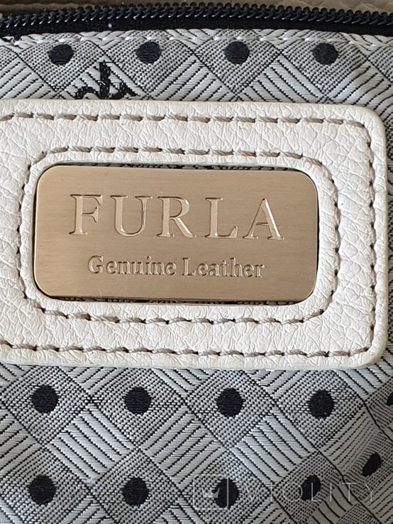 Сумка кожаная FURLA., фото №5