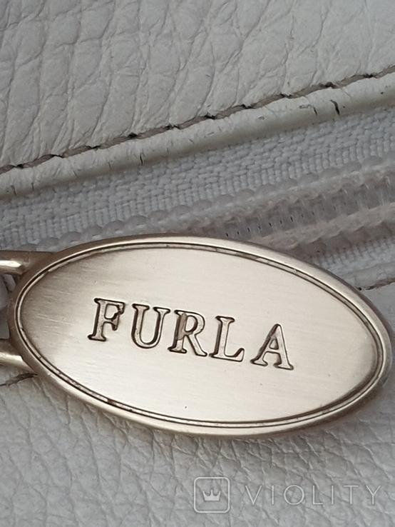 Сумка кожаная FURLA., фото №6