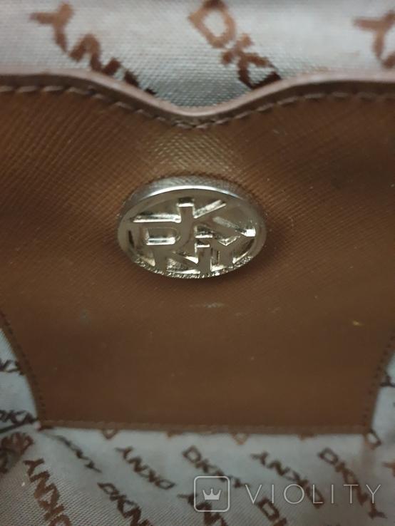 Сумка кожаная DKNY., фото №8