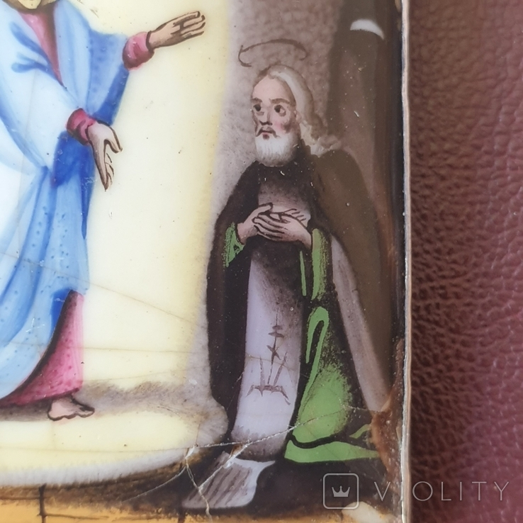 Икона Финифть, фото №6