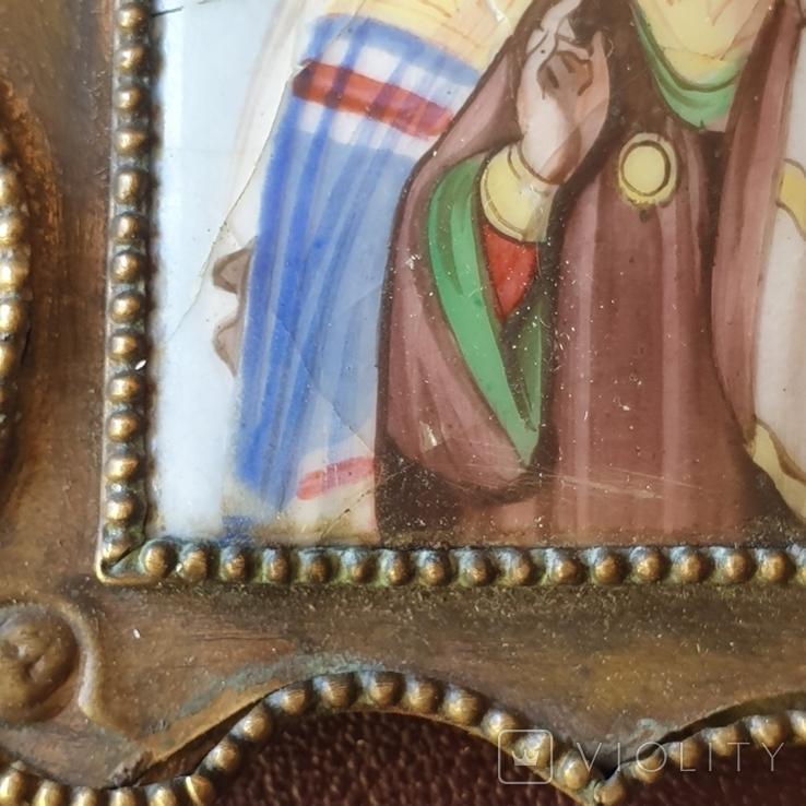 Финифть Святитель Павел митрополит Тобольский, фото №6