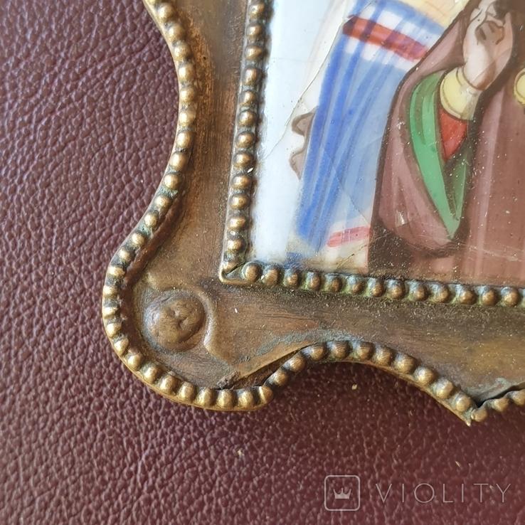 Финифть Святитель Павел митрополит Тобольский, фото №9
