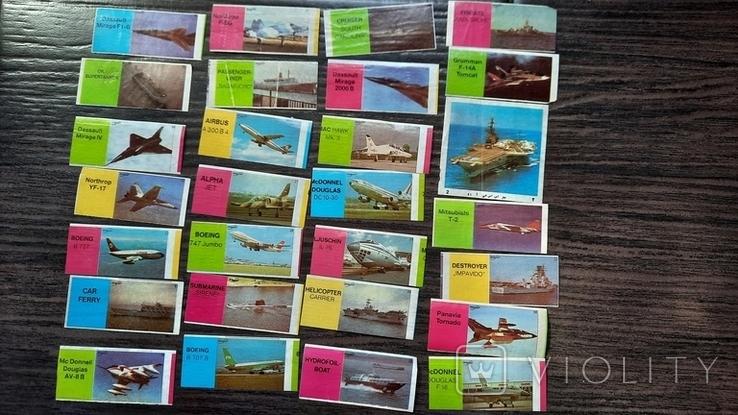 Самолёты, корабли 28шт, фото №2