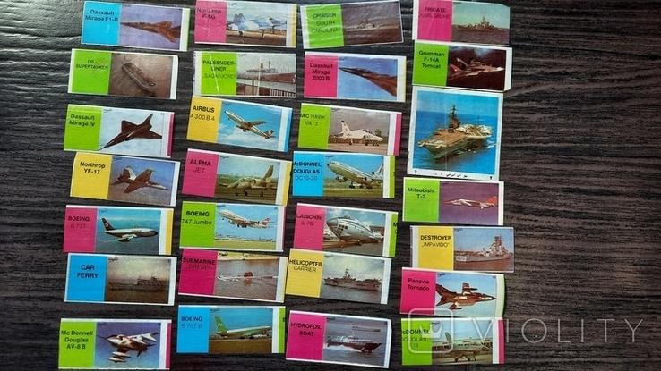 Самолёты, корабли 28шт, фото №3