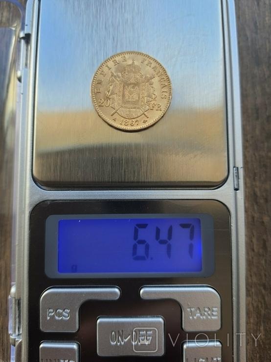 20 франків 1867 A року, фото №4