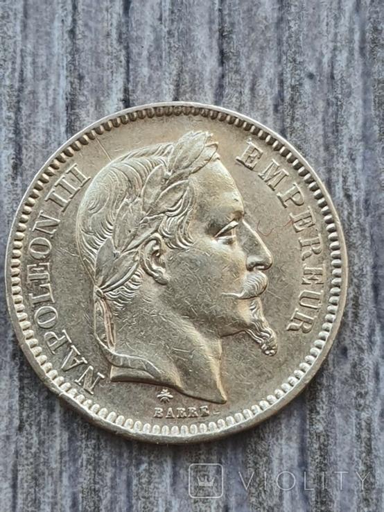 20 франків 1866 A року, фото №3