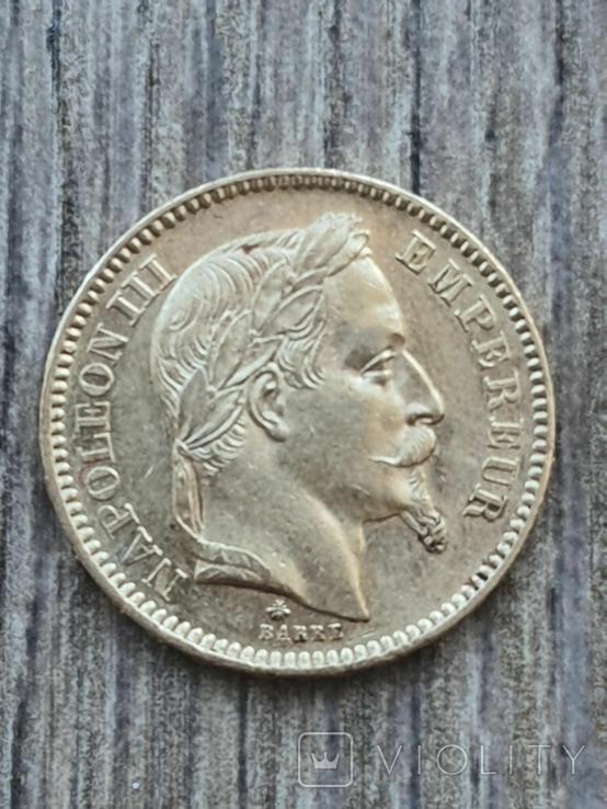 20 франків 1862 A року, фото №3
