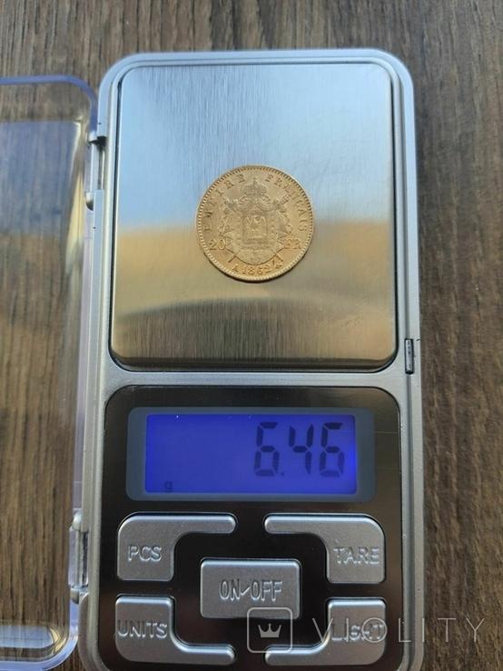 20 франків 1862 A року, фото №4