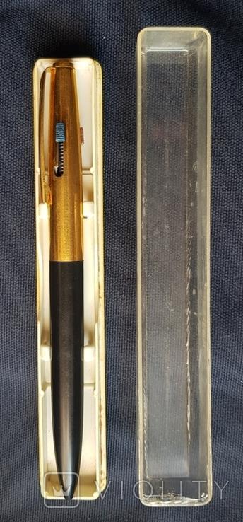Позолочена ручка на три ампулки, фото №4