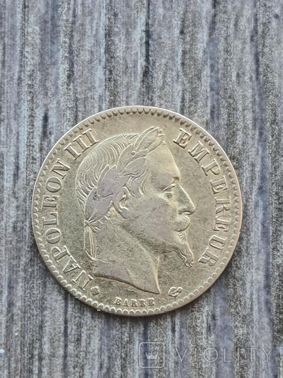 10 франків ВВ 1868 року, фото №3