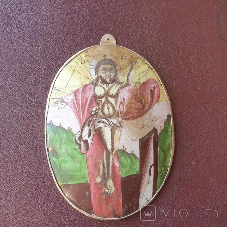 Финифть Исус Христос, фото №2